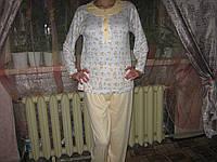 Пижама женская  100% хлопок размер М (46)
