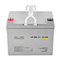 Аккумулятор мультигелевый LogicPower 12v33ah