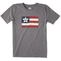 Детская футболка для мальчиков Life Is Good Boys Flag Cool Tee