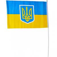 Флаг «Украина»  средний (арт.ФУс/17-4)