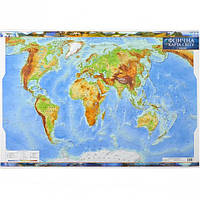 Физическая карта мира м-б 1  : 35 000 00… (арт.1406)