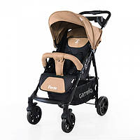 Детская прогулочная коляска CARRELLO Forte CRL-1408 LIGHT BROWN