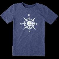 Детская футболка для мальчиков Life Is Good Boys Compass Cool Tee