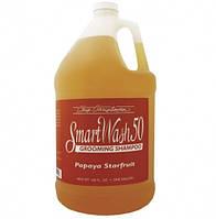 Шампунь Chris Christensen SmartWash Papaya Starfruit для собак с ароматом папайи, 3.8 л