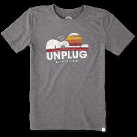 Детская футболка для мальчиков Life Is Good Boys Unplug Cool Tee