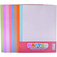 Цветной картон А4 металлизированный, 9 л… (арт.120650/КЦ057)