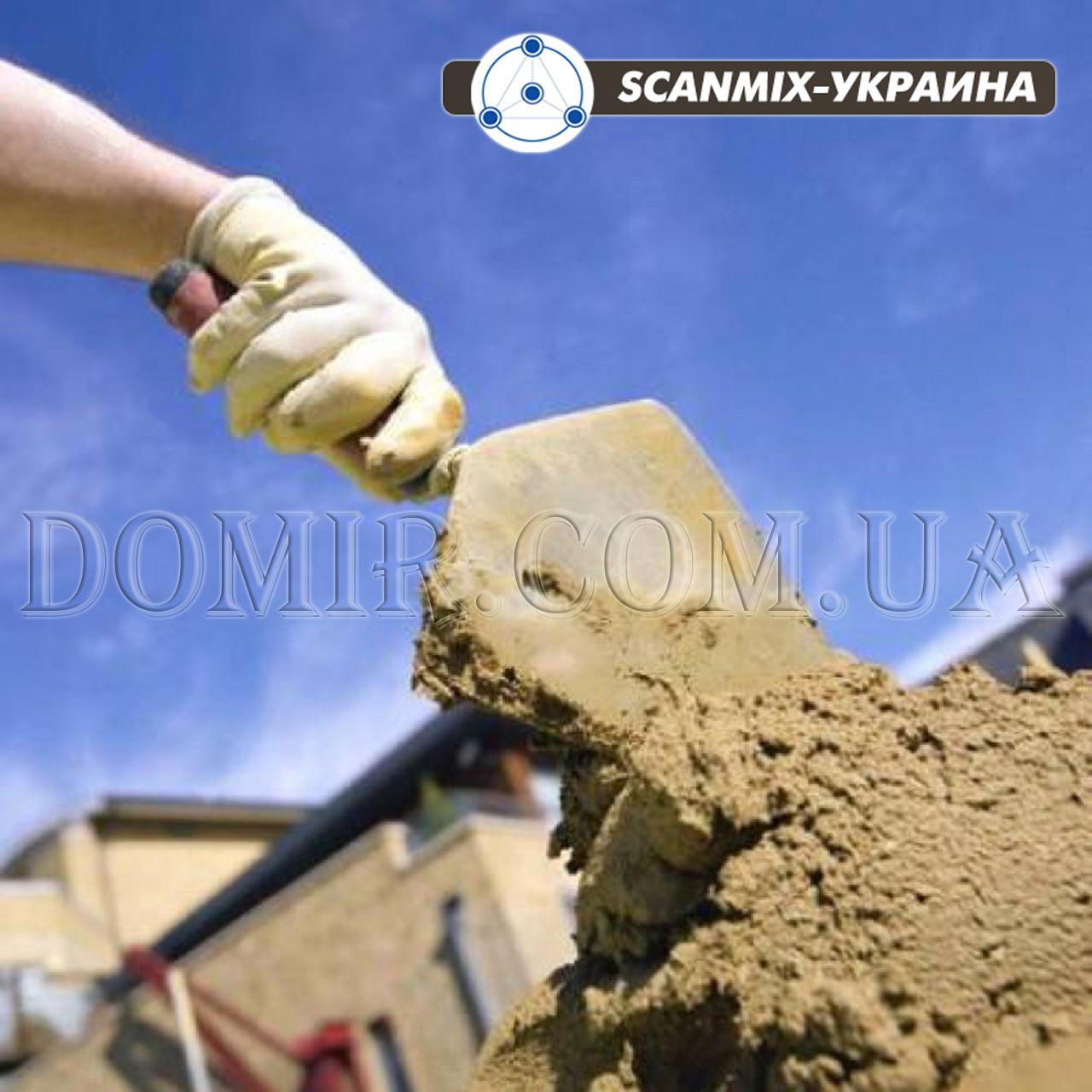 Сухі будівельні суміші SCANMIX (СКАНМІКС)