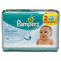 Детские влажные салфетки Pampers Fresh Clean Duo, 128 шт