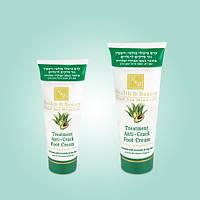 Интенсивный крем для ног против трещин с маслом Авокадо и Алоэ Вера (100мл). Health & Beauty