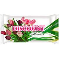 """Влажные салфетки discount """"Цветы"""""""