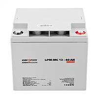Аккумулятор мультигелевый LogicPower 12v40ah