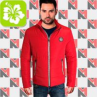 Стильная куртка весенняя - 244 красный