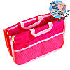 Органайзер для сумки ORGANIZE украинский аналог Bag in Bag (розовый)
