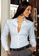 Женское боди рубашка с длинными рукавами