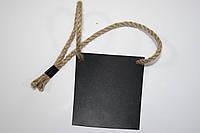 Грифельная табличка / доска для мела. Навесная. Настраиваемая. 10 см х 20 см