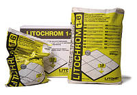 Цементная затирочная смесь от 1 до 6 мм LITOCHROM 1-6 25кг
