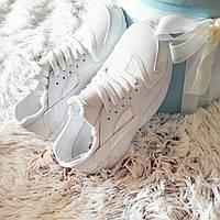 Белые женские кроссовки копия хуараче  код224, фото 1