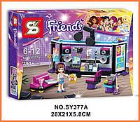"Конструктор Friends SY377A ""Студия звукозаписи"" (аналог Lego 41103)"