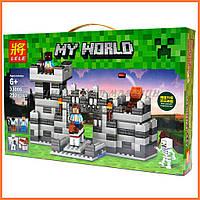 Конструктор для мальчиков Minecraft Майнкрафт LELE арт.33006 «Крепость», 292дет.