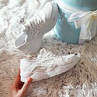 Белые женские кроссовки копия хуараче  код224 41 размер!
