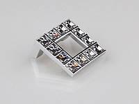 Ручка мебельная Giusti РГ 68/32 WPO550.032.KR02 Хром глянцевый/Прозрачные кристаллы Swarovski (9701)