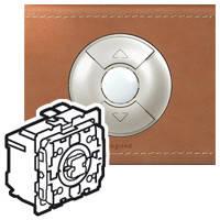 Выключатель кнопочный для жалюзи/штор/тента 2 50В Celiane