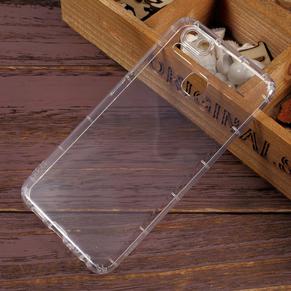 Чехол накладка силиконовый TPU Drop-proof Ultra для Asus Zenfone 3 Zoom ZE553KL прозрачный