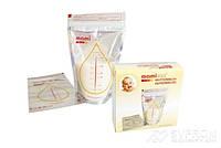Пластиковые одноразовые пакеты Mamivac (для сбора, транспортировки и замораживания молока)