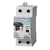 Дифференциальный автомат DX, 1P+N, 16A (A) 30mA (C) Legrand (Легранд)