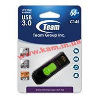 USB накопитель Team 64GB C415 Green (TC145364GG01)