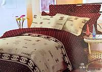 Евро комплект постельного белья  CHANEL (NEW)