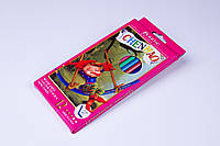 """Карандаши цветные пластиковые """"Leonardo"""" гибкие (12 шт), фото 1"""