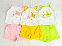 Детский комплект для  девочки Топ и Шорты 3-4 года, фото 1
