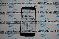 Сенсорный экран для мобильного телефона Prestigio MultiPhone PAP 5508 Duo черный