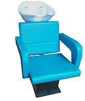Парикмахерская мойка Lady Flamenko с креслом и сантехникой, фото 1