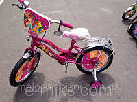 Велосипед детский 16 дюймов Винкс