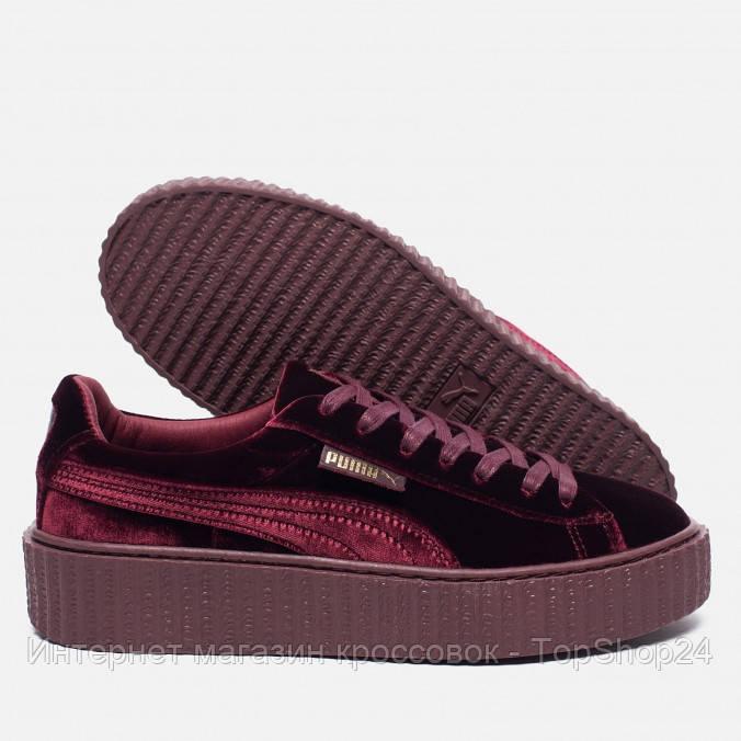 Купить Женские кроссовки Puma x Rihanna Creeper Velvet