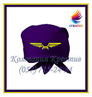 Однотонные банданы-косынки с Вашим логотипом (под заказ от 50 шт)