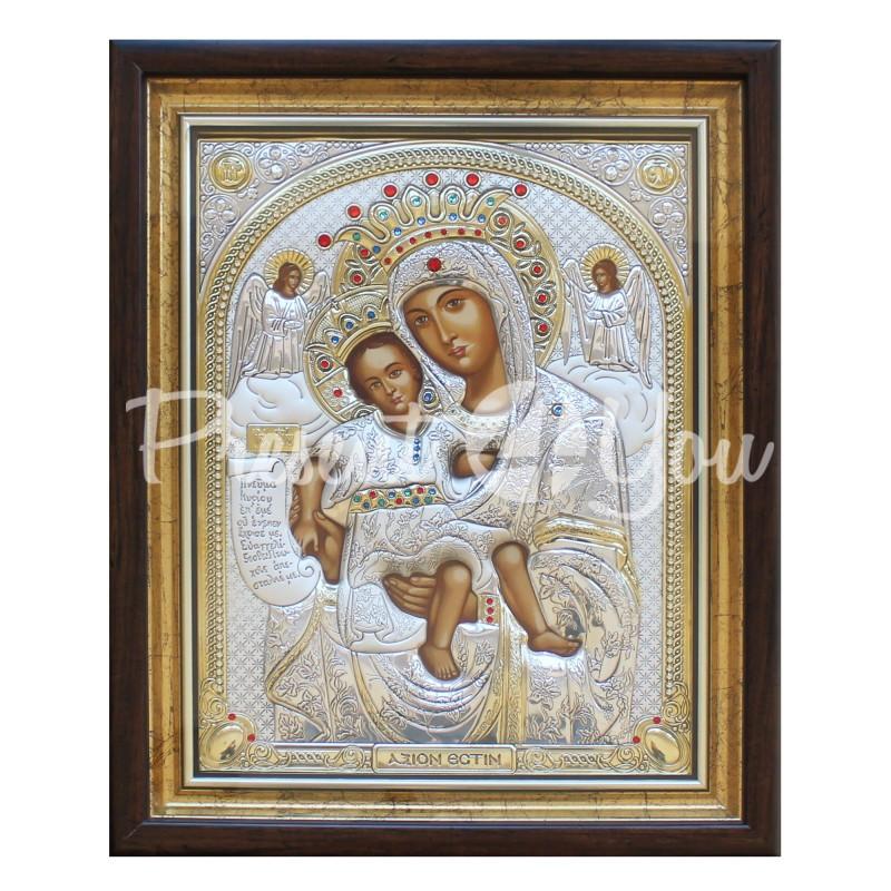 Икона Богородицы «Достойно есть» (Милующая), 43х54 см.