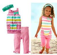 Летний костюм,комплект для девочки, фото 1