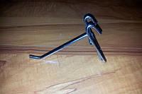 Крючки для товара хромированные на сетку,10 см. (5мм.)
