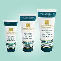 Мультивитаминный крем для ног, оздоравливающий грубую и потрескавшуюся кожу ступней (100 мл). Health & Beauty