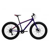 Велосипед 26'' Pride Trophy 2.0 рама - L фиолетовый/оранжевый лак 2017