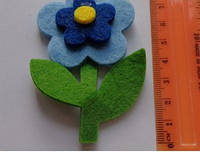 Высечка Цветок-2 358