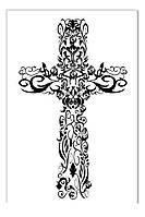Светящиеся картина Startonight Крест Религия Черно Белые Печать на Холсте Декор стен Дизайн дома Интерьер