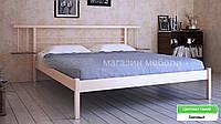 Кровать металлическая  Астра /Astra двухспальная 160 (Метакам) 1664х2080х840 мм