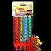 Тортові свічки FS-4, довжина свічки: 12 см, час горіння: 60 секунд, колір іскор: різнокольорові