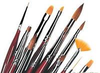 Кисти для наращивания,росписи и дизайна ногтей