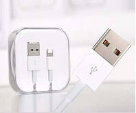 Кабель USB - Lightning 1м белый /Original Pac. (к Apple)