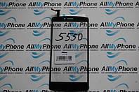 Сенсорный экран для мобильного телефона Prestigio MultiPhone PAP 5550 Duo черный